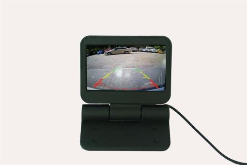 VCAN0998 Auto Electric flip 4.3 monitor LCD Color Car Monitor 4