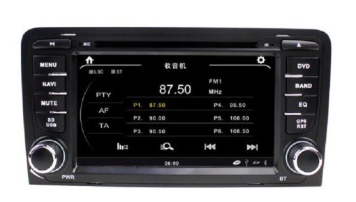 AUDI A3 DVD VCAN1282 1