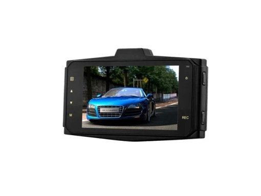VCAN1391 3inch LCD screen 1080P dual lens car dash camera with car plate number recognition function 3
