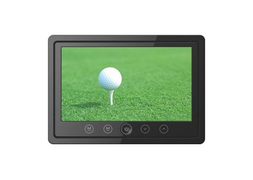 7inch lcd monitor with 2way audio input ir stereo transmitter and frame VCAN1395 1