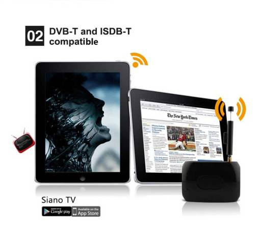 WiFi-TV1W digital TV wifi receiver dvb-t isdb-t for smartphone no need internet 3