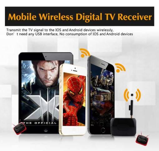 WiFi-TV1W digital TV wifi receiver dvb-t isdb-t for smartphone no need internet 1