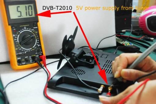 diversity dvb-t cofdm 10.1 inch digital tv monitor dvb-t2 receiver hdmi in out 6M 7M 8M bandwidth 170M to 930M frequency DVB-T2101HD 3