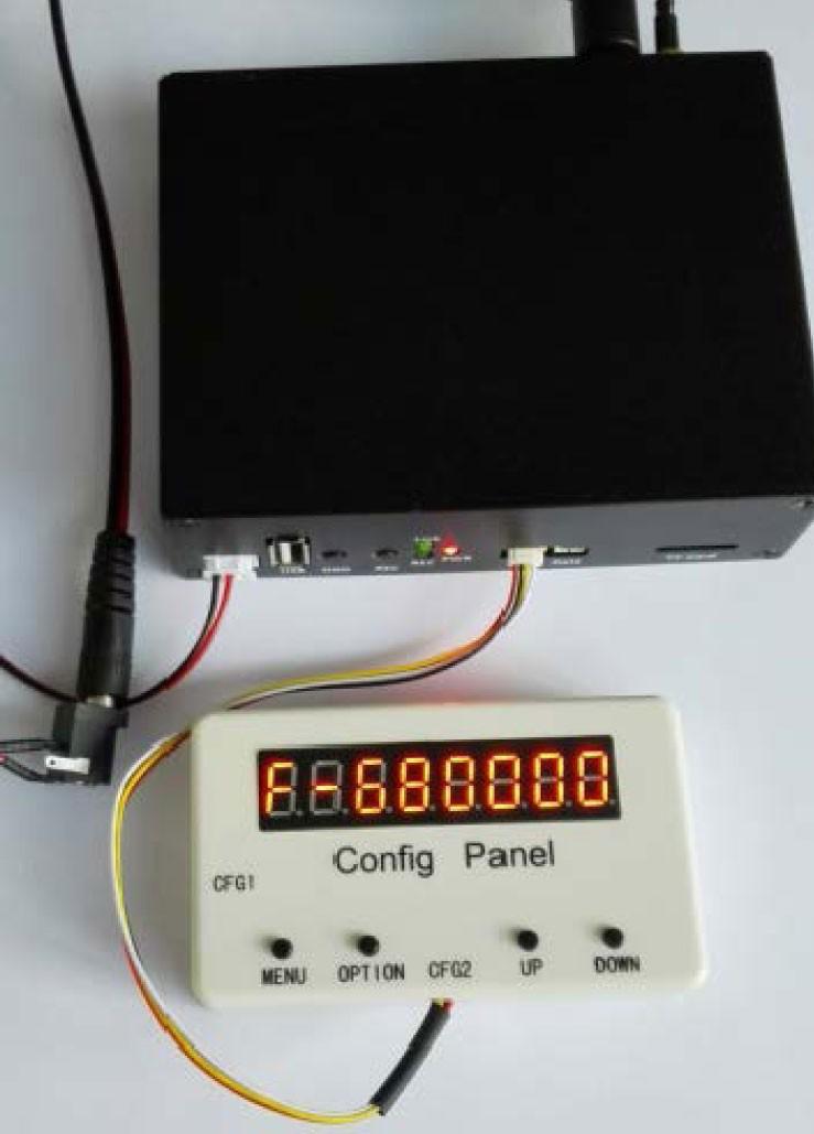 COFDM Wireless Video Receiver Configure Board