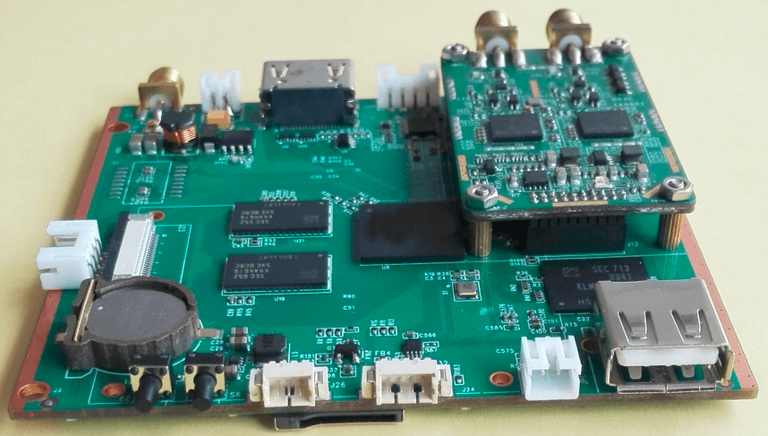 Decode Board H.265 COFDM Wireless Video transmission Receiver 2