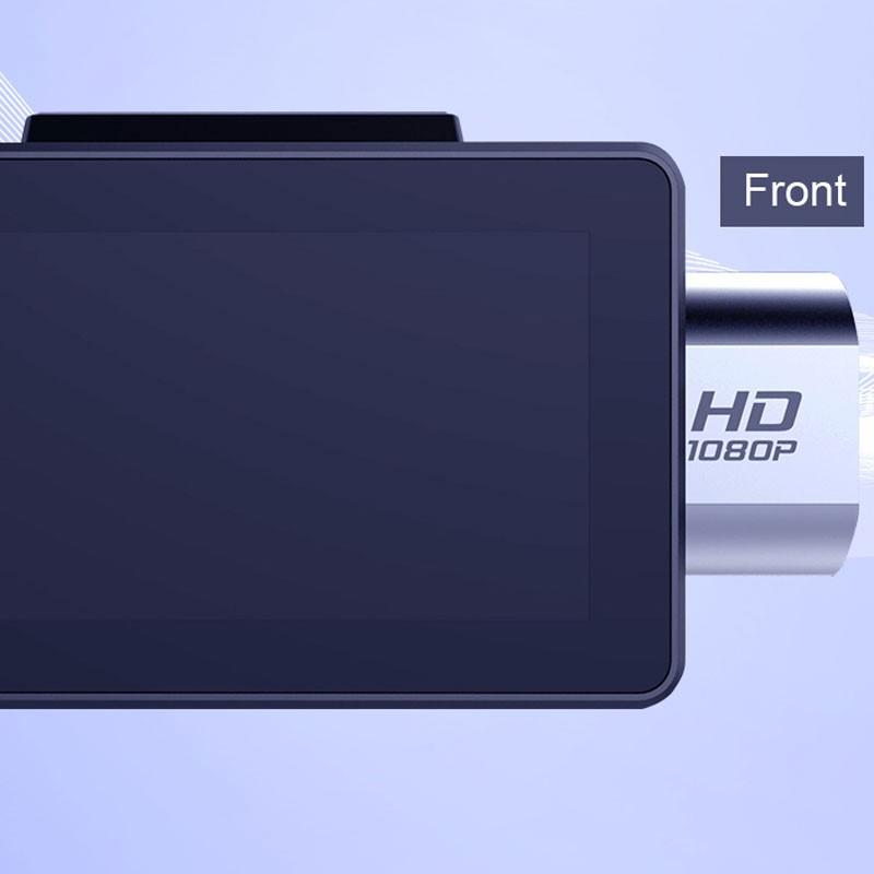 Android DVR dashcam car camera 3.0 inch full 1080 HD GPS logger dual camera video recorder Vcan1608 8