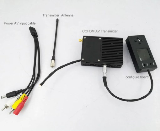 720p video transmitter transmission