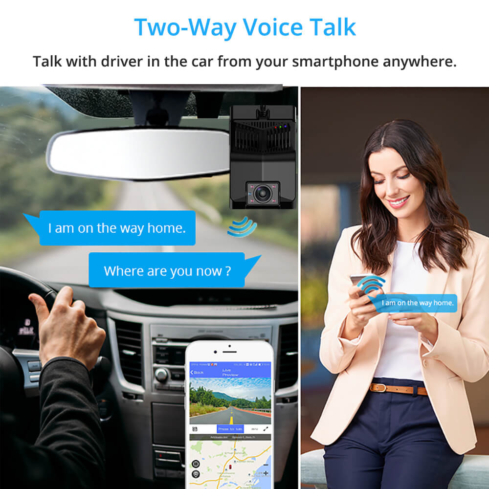 taxi camera android DVR in-car 3G 4G Dual Lens 2 Channel Dashcam mobile truck bus insureance fleet management telematics Uber driver Vcan1638 tw1 9