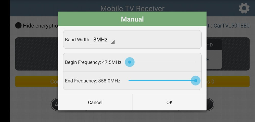 WIFI DVB-T2 Tuner Digital TV DVB-T Receiver for Android phone and pad Vcan1654 19