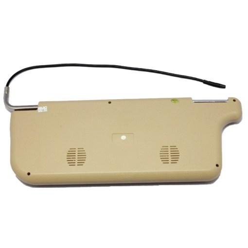 7 inch Sun Visor monitor 9 inch right left side black beige grey 1
