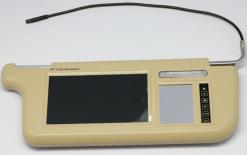 7 inch Sun Visor monitor 9 inch right left side black beige grey 7