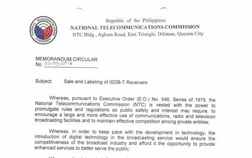 Phillipines gov requirement