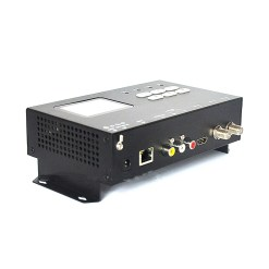 ISDB-T modulator encoder Digital HDMI CVBS in DVB-T ISDB-T RF out Converter 1 Route Vcan1474 5