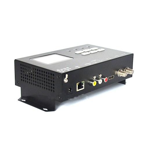 ISDB-T modulator encoder Digital HDMI CVBS in DVB-T ISDB-T RF out Converter 1 Route Vcan1474 2