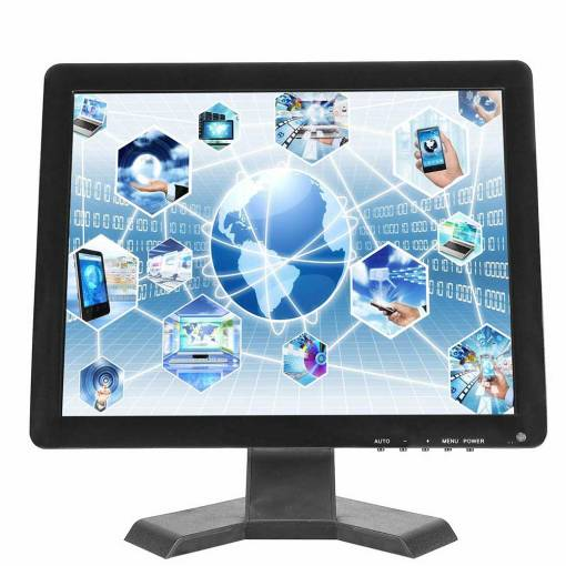 17 inch HDMI monitor screen with VGA input PC 1