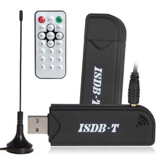 USB ISDB-T Digital TV-Stick for computer PC notebook win10 Video Recorder USB TV Receiver Remote Control 1