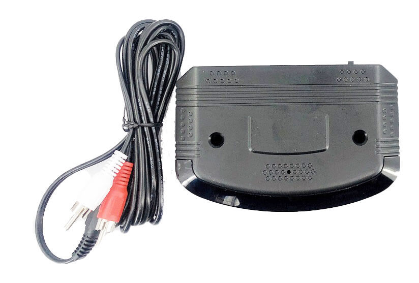 wireless IR audio transmitter with audio cable