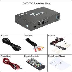 single antenna Car ISDB-T Digital TV Box HD fullSeg Receiver Mobile Digital TV Receiver for Brazil Chile Peru 13