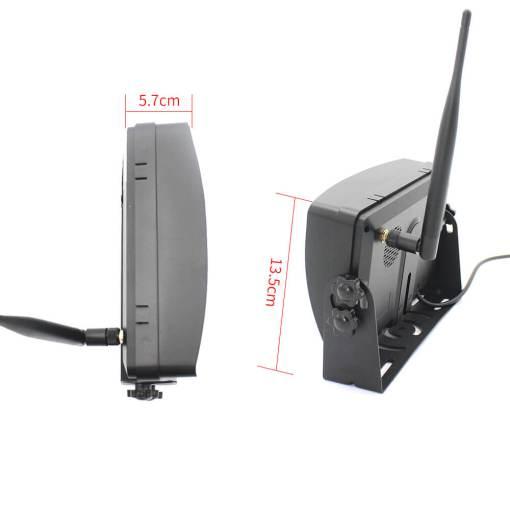 7 inch quad monitor wireless camera DVR for auto mobile truck Vehicle screen rear view monitor reverse backup recorder wifi camera 9