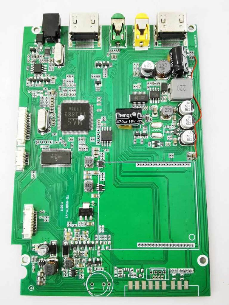 YS-910DTV-V1 digital tv receiver with the monitor driver board 1