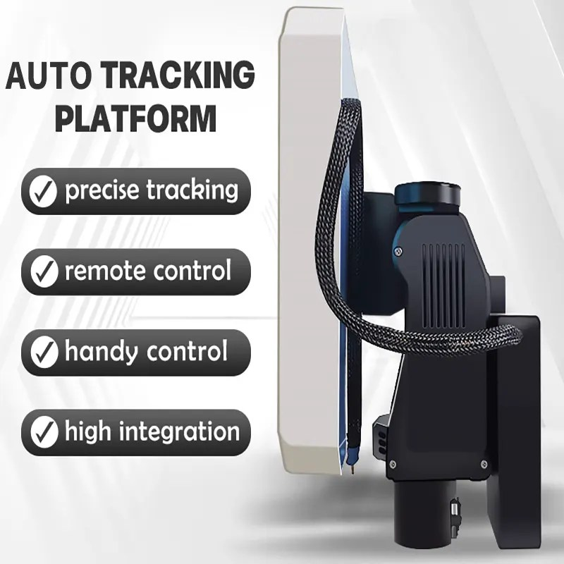 Auto Antenna Tracking System Tracker antenna with Drone Mavlink protocol Vcan1703 4