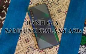Samsung Galaxy A50s nâng cấp mạnh về camera