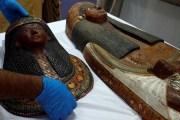 Ai Cập phục dựng quan tài chứa xác ướp 3.400 năm