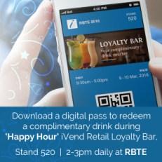 Loyalty Bar at RBTE 2016