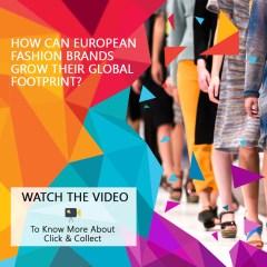 How can European fashion brands grow their global footprint