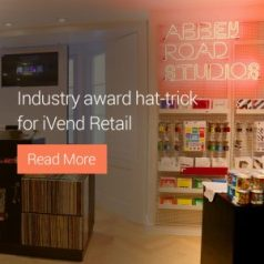 Industry award hat-trick for iVend Retail