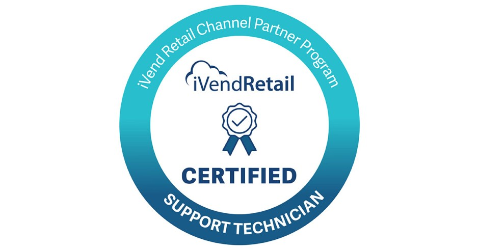 iVend Retail Certified Support Technician
