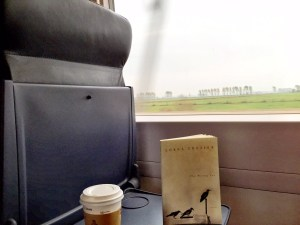 Reading on the wonderful German trains!