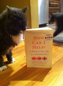 Smokey ponders the devestation of mental illness while simultaneously enjoying the texture of the cover