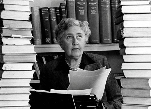 Agatha Christia, Author