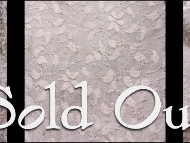 Onyx Floral Washed Silk