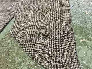 Fairholme Sash in Chimney Glen Plaid Washed Linen by Ivey Abitz