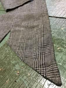 Fairholme Sash in Chimney Glen Plaid Washed Linen by Ivey Abitz