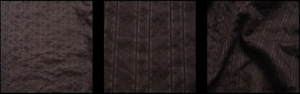 Gable Green Hemstitch Striped Voile
