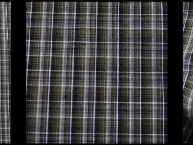 Gable Green Plaid Cotton