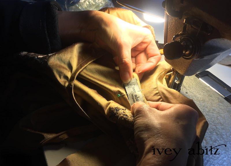 Emmy Dress for Carolyn Hennesy, designed by Cynthia Ivey Abitz.