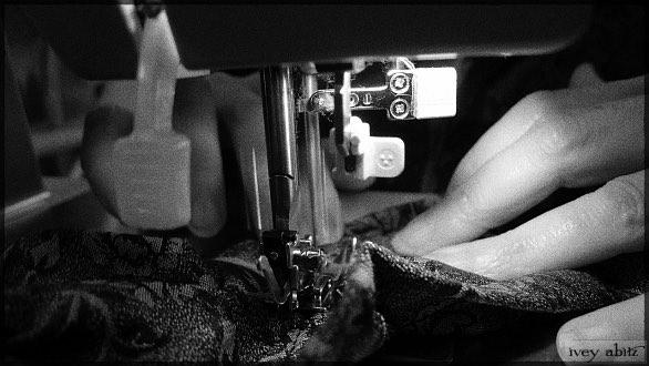 Sewing Ivey Abitz Bespoke Garments