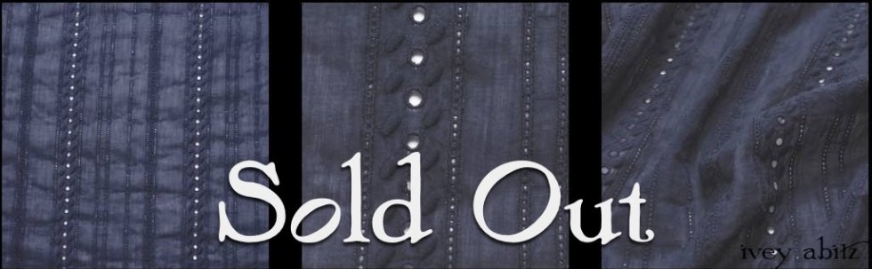 Onward Blue Embroidered Voile
