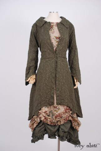 Chittister Duster Coat in Morning Meadow Hemstitch Jacquard – Size Small/Medium 1