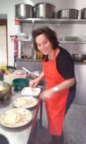 Alicia en la cocina