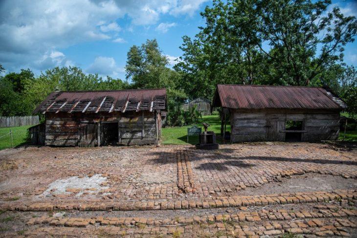 Le piantagioni lungo il Mississippi