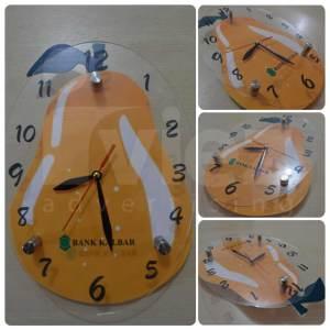 Jam Dinding Unik dan lucu, Jam Dinding Promosi Unik, Jam Dinding Costum Bandung, Iviez Bandung, 0813-2184-7425