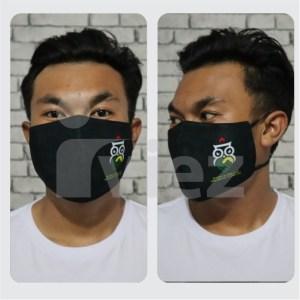 Masker kain 3 lapis murah