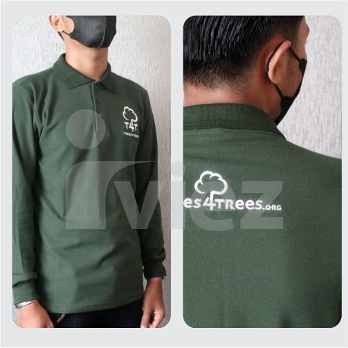 Polo shirt custom murah bandung 0813-2184-7435
