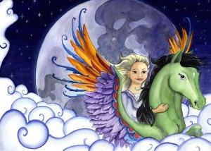 Hesten, pigen og snottrolden af Eva Ehler-ivimedia