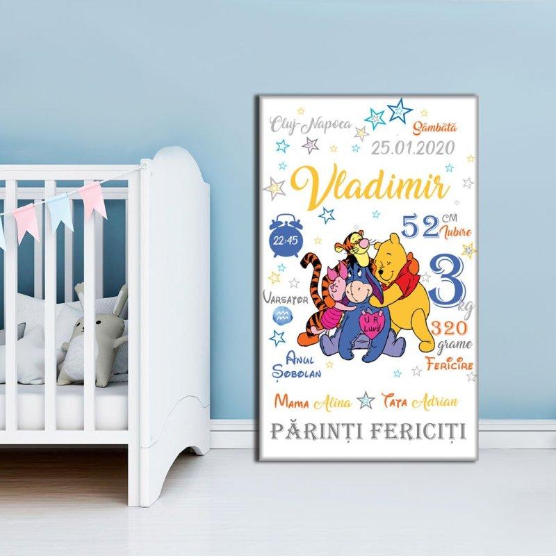 Tablou-Canvas-Personalizat-Winnie-the-Pooh-01